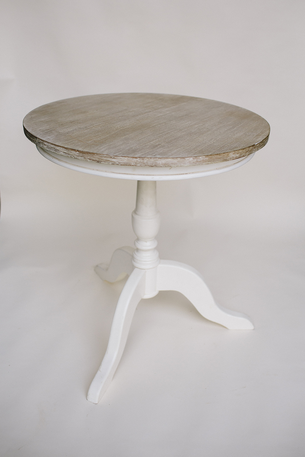 Limewash Registry Table / $45