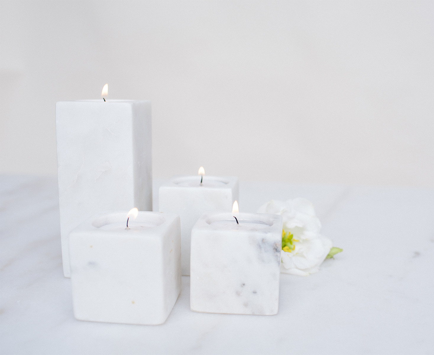 Marble Tealight / from $2.50