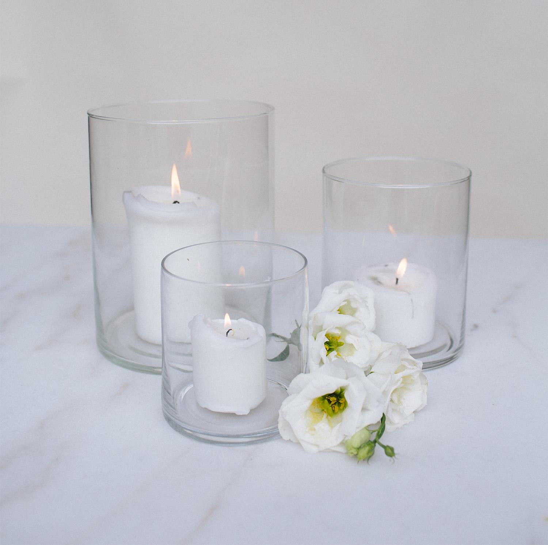 Cylinder Vase / from $3
