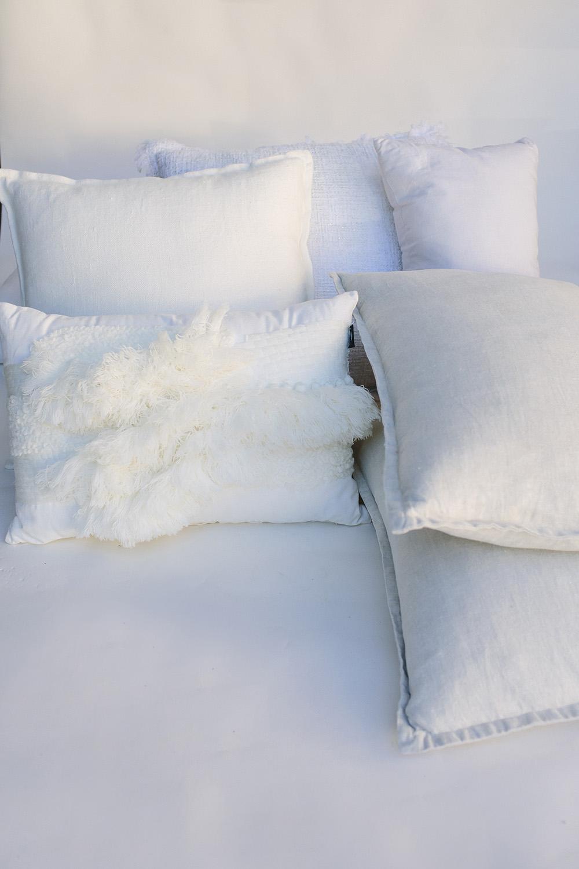 Neutral Cushions / $7.50